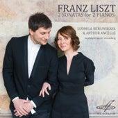 Franz Liszt: 2 Sonatas for 2 Pianos by Arthur Ancelle