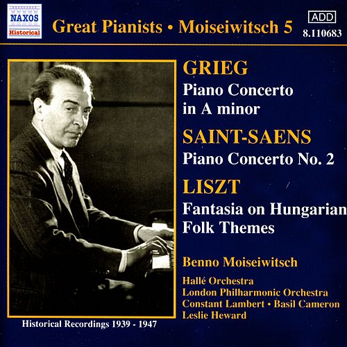 Play & Download Great Pianists: Moiseiwitsch by Various Artists | Napster