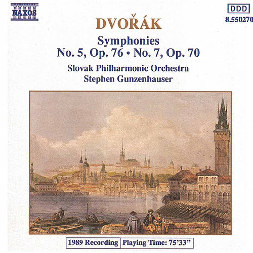 Play & Download Symphonies Nos. 5 and 7 by Antonin Dvorak | Napster