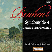 Brahms: Symphony No. 4 - Academic Festival Overture by Slovak Philharmonic Orchestra