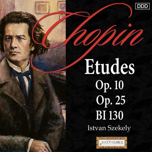 Chopin: Etudes Op. 10, Op. 25 and BI 130 by Istvan Szekely