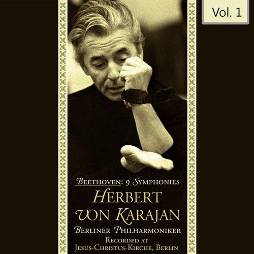 Beethoven: 9 Symphonies - Herbert Von Karajan, Vol. 1 von Herbert Von Karajan