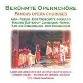 Berühmte Opernchöre by Rafael Frühbeck de Burgos Chor und Orchester der Deutschen Oper Berlin