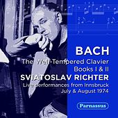 Play & Download Bach: Well Tempered Clavier (Books I & II, Complete) LIVE Innsbruck 1973 by Sviatoslav Richter | Napster