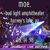 06-14-98 - Bud Light Amphitheater - Harvey's Lake, PA by moe.
