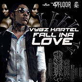 Play & Download Fall Ina Love - Single by VYBZ Kartel | Napster