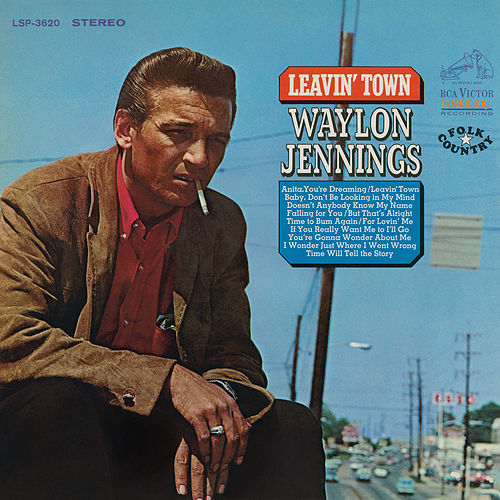 Play & Download Leavin' Town by Waylon Jennings | Napster