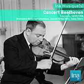 Concert Beethoven, Concert du 18/09/1958, Orchestre National de la RTF, Joseph Krips (dir), Isaac Stern by Various Artists