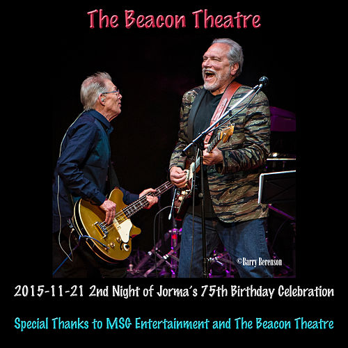 Play & Download 2015-11-21 Beacon Theatre, New York, NY (Live) by Hot Tuna | Napster