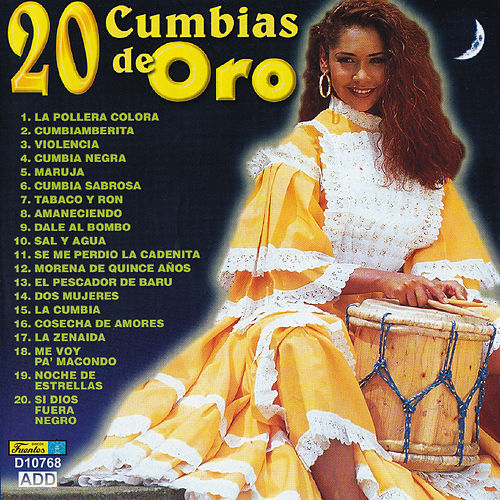 20 Cumbias de Oro by Various Artists