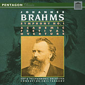 Play & Download Brahms: Academic Festival Overture - Symphony No. 1 by Sofia Philharmonic Orchestra | Napster