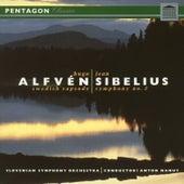 Alfven: Swedish Rhapsody No. 1 - Sibelius: Symphony No. 2 by Slovenian Symphony Orchestra
