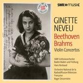 Beethoven & Brahms: Violin Concertos by Ginette Neveu
