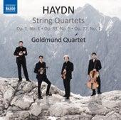 Haydn: String Quartets by Goldmund Quartet