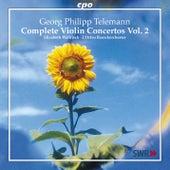 Telemann: Complete Violin Concertos, Vol. 2 by Elizabeth Wallfisch