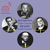 Beethoven: Triple Concerto, Op. 56 - Brahms: Double Concerto, Op 102 by Isaac Stern