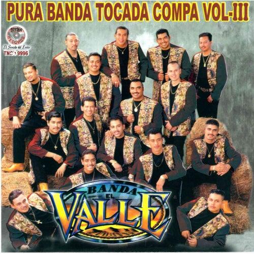 Pura Banda Tocada Compa, Vol. 3 by Banda El Valle
