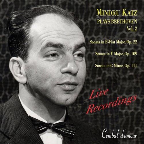 Mindru Katz Plays Beethoven, Vol. 2 by Mindru Katz