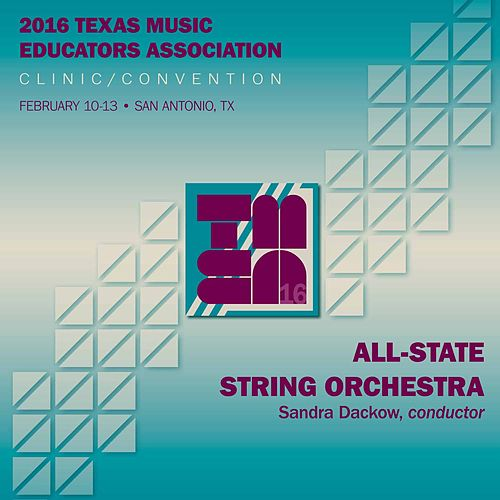 2016 Texas Music Educators Association (TMEA): All-State String Orchestra (Live) by Texas All-State String Orchestra