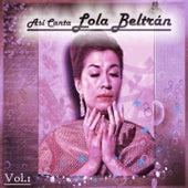 Así Canta Lola Beltrán, Vol. 1 by Lola Beltran