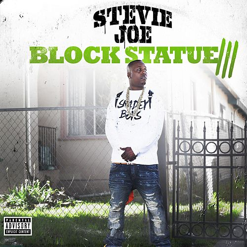 Block Statue 3 by Stevie Joe