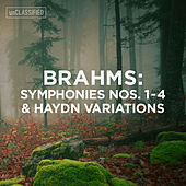 Brahms: Symphonies Nos. 1-4 & Variations on a Theme by Haydn von Various Artists