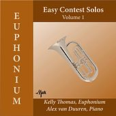 Easy Contest Solos for Euphonium, Vol. 1 by Kelly Thomas