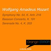 Orange Edition - Mozart: Symphony No. 54, K. Anh. 216 & Serenade No. 4, K. 203 by Various Artists