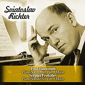Play & Download Paul Hindemith: Piano Sonata No. 1 in A Major / Serguéi Prokófiev: Piano Sonata No. 1 in A Major by Sviatoslav Richter | Napster