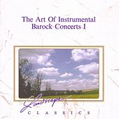 The Art Of Instrumental Baroque Concerts Vol. 1 Vol. 1 by Luigi Zanetti Orchestra Da Camera Dell'Arte