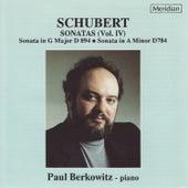 Schubert: Sonatas, Vol. IV by Paul Berkowitz
