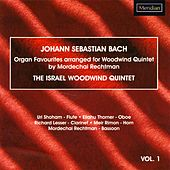 Bach: Organ Favourites Arranged for Woodwind Quintet, Vol. 1 by The Israel Woodwind Quintet