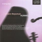 Play & Download Hummel: Amusement, Op. 108 / Sonata, Op. 14 / Variations alla Monferina, Op. 54 / Sonata No. 2, Op. 5 by Trian3ulus | Napster