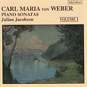 Weber: Piano Sonatas, Vol. 1 by Julian Jacobson
