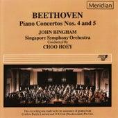 Beethoven: Piano Concertos Nos. 4 & 5 by John Bingham