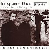 Debussy, Janacek, Strauss: Sonatas for Violin and Piano by Michael Abramovich