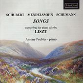 Schubert, Mendelssohn & Schumann: Songs by Antony Peebles