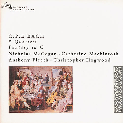 Play & Download Bach, C.P.E.: 3 Quartets; Fantasy in C by Nicholas McGegan | Napster