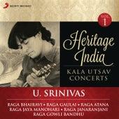 Heritage India (Kala Utsav Concerts, Vol. 1) [Live] by U. Srinivas