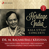 Heritage India (Kala Utsav Concerts, Vol. 1) [Live] by Dr. M. Balamuralikrishna