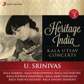 Heritage India (Kala Utsav Concerts, Vol. 3) [Live] by U. Srinivas
