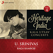 Heritage India (Kala Utsav Concerts, Vol. 4) [Live] by U. Srinivas