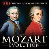 Mozart Evolution: 100 Chronological Masterpieces by Various Artists