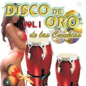 Disco de Oro de las Cumbias Vol. 1 by Various Artists