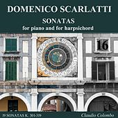 Play & Download Domenico Scarlatti: Sonatas for piano and for harpsichord, Vol. 16 by Claudio Colombo | Napster