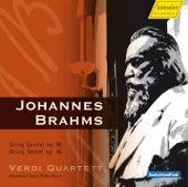 Play & Download Brahms: String Quintet in F Major & String Sextet in G Major by Verdi Quartett | Napster
