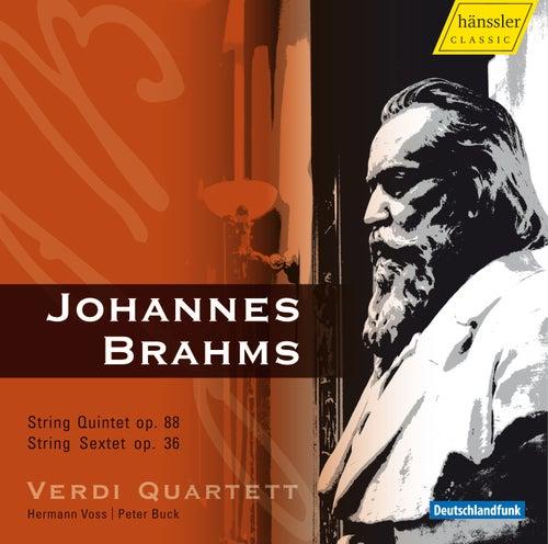 Brahms: String Quintet in F Major & String Sextet in G Major by Verdi Quartett