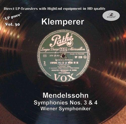 LP Pure, Vol. 30: Klemperer Conducts Mendelssohn by Wiener Symphoniker