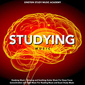 Studying Music - Relaxing and Soothing Guitar Music for Deep Focus Concentration and Calm Music for Reading Music and Exam Study Music by Einstein Study Music Academy (1)