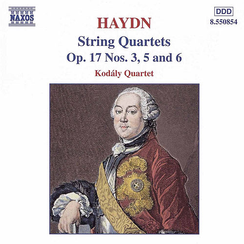 Play & Download String Quartets Op. 17 Nos. 3, 5, and 6 by Franz Joseph Haydn | Napster